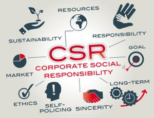 Corporate social responsibility (csr)is a form of corporate self-regulation integrated into a business model