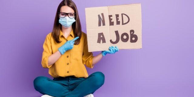 Need a job pandemic