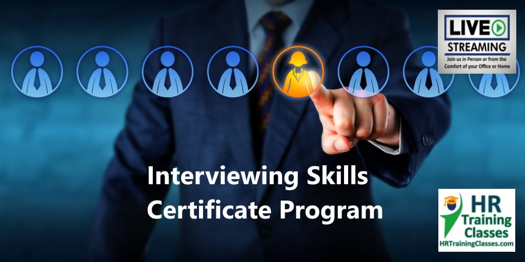 interviewing skills certificate Progrram